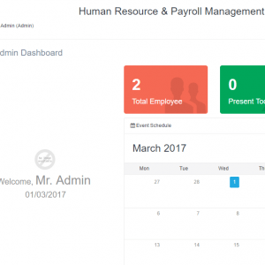 Human Resource Payroll Management System